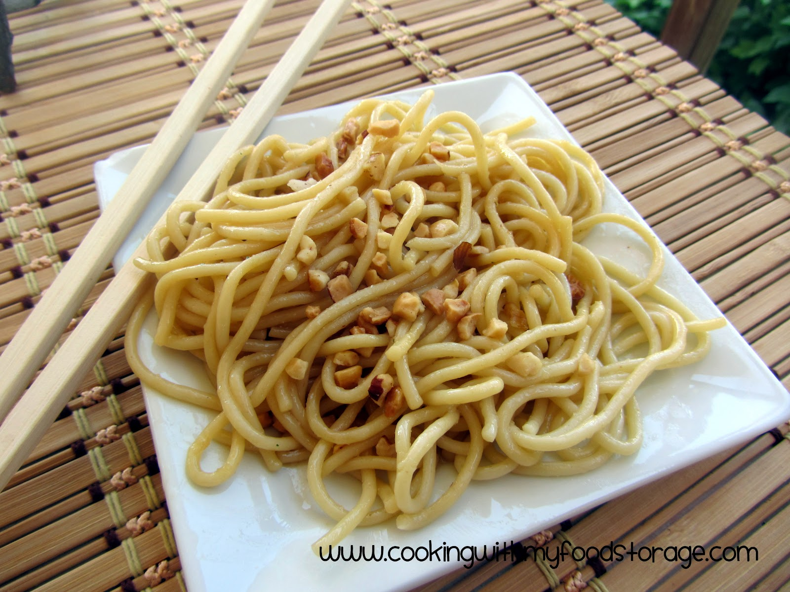 Thrive Life Consultant: Super Simple Sesame Noodles