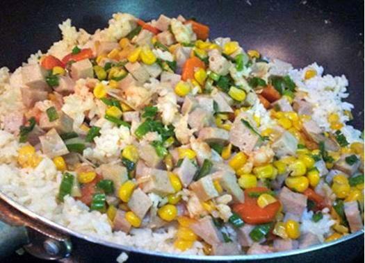 Vietnamese Rice Recipes - Cơm chiên hải sản