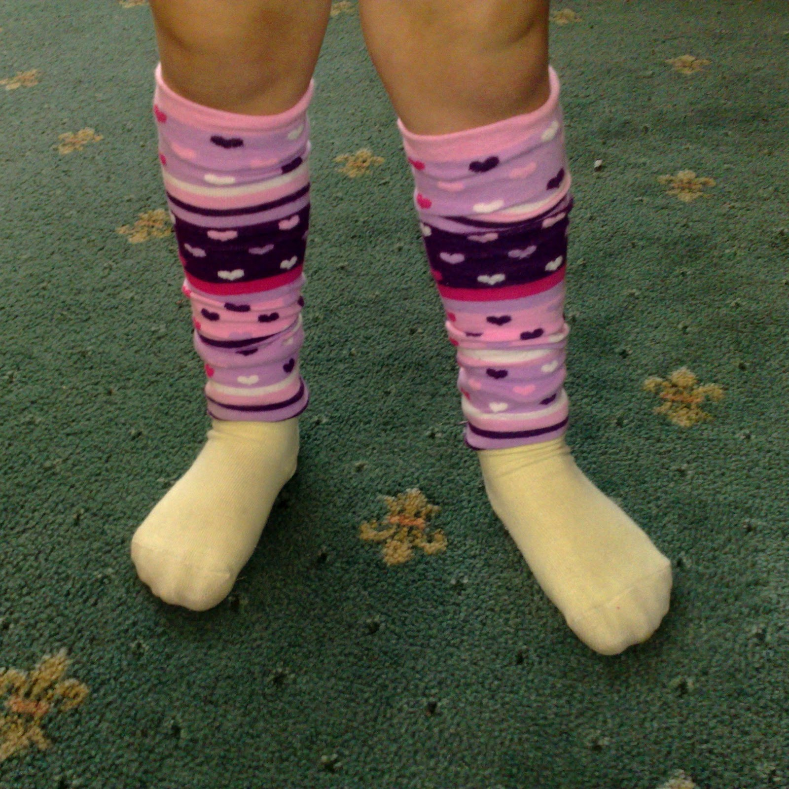 Karima's Crafts: How to Make Leg Warmers out of tights or ...