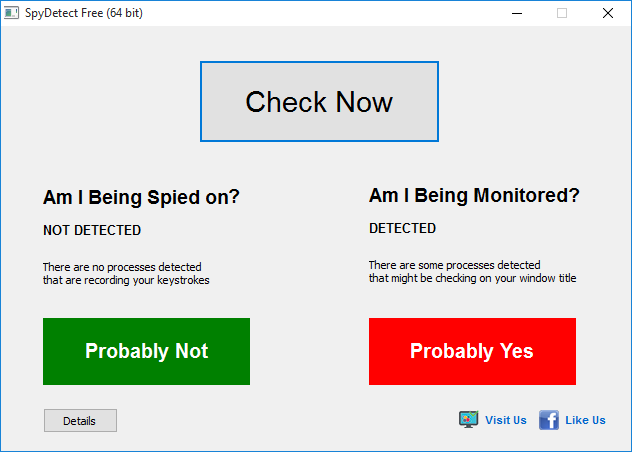 كيف تكتشف اي محاولة للتجسس علي جهازك SpyDetectFree