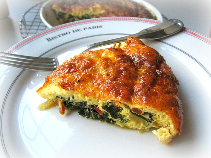 Stacey Snacks: Tuesday Tart: Crustless Swiss Chard Quiche