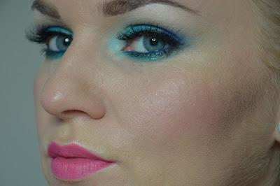 Blue Lagoon. Makijaż nr 12.
