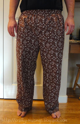 Kwik Sew 3793, men's pajama pants