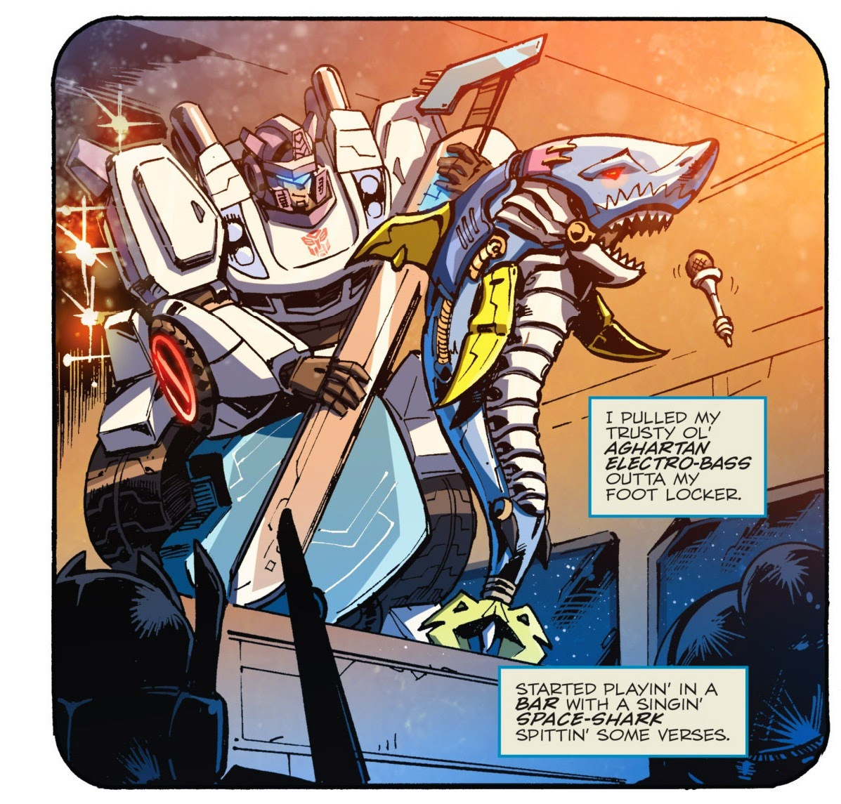 Transformers Bands: Bottom Of The Pile