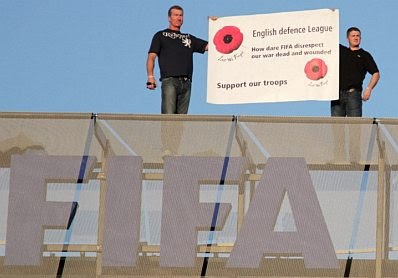 EDL poppies on the roof of the FIFA building #1