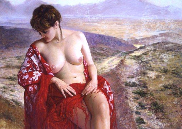 Soledad Fernandez 1949 | Spanish Figurative painter