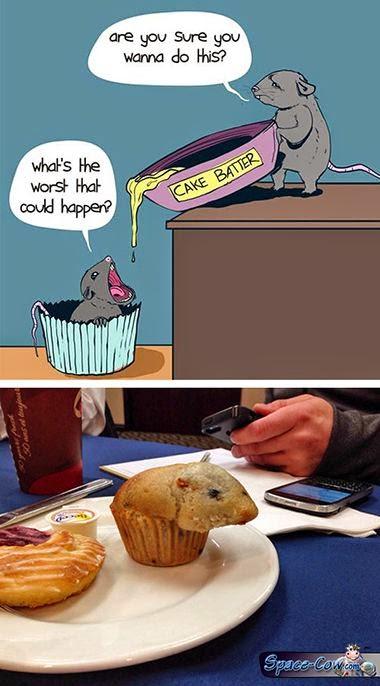 funny comics muffin picture