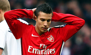 Robin Van Persie Arsenal number 10
