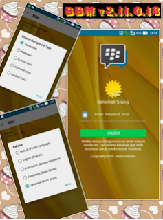 Download Tema BBM Transparan Untuk Android Terbaru dan Terbaik