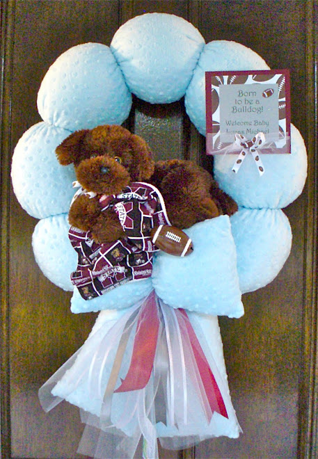 59. MISSISSIPPI STATE&#39;S LITTLEST FAN WREATH