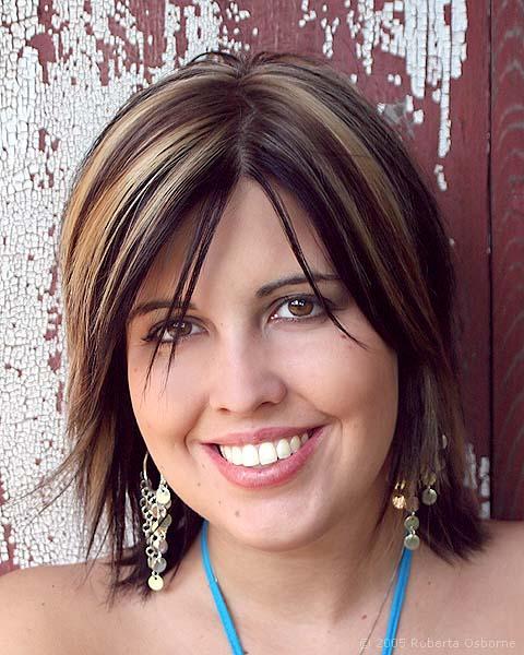 Dark Hair With Highlights Ideas - Dark Brown Hairs