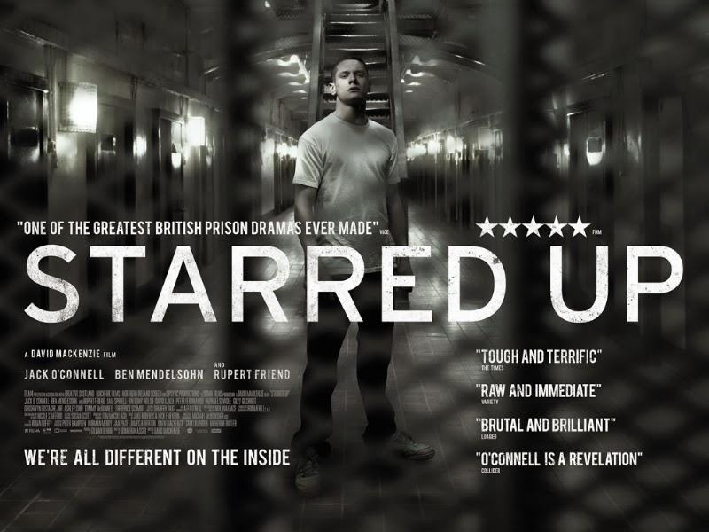 Capa do Starred Up Dual Áudio DVDRip + Dublado Torrentfilmes