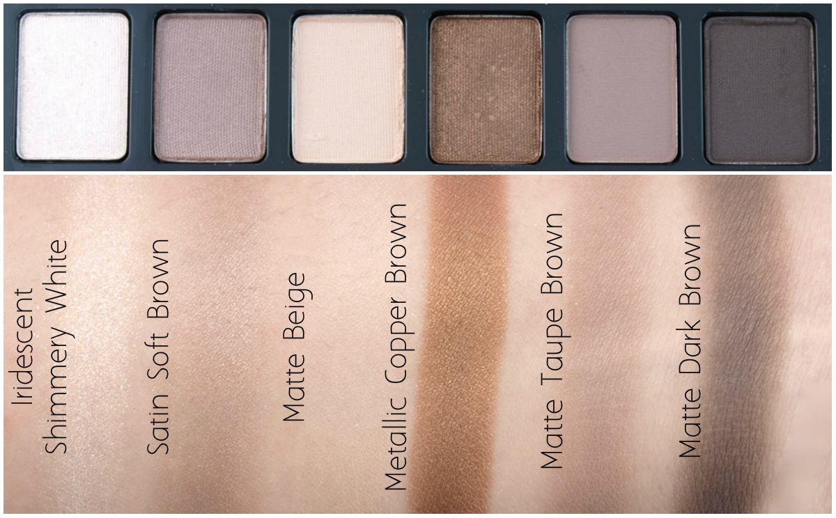 Maybelline The Nudes The Blushed Nudes Eyeshadow Palettes Review
