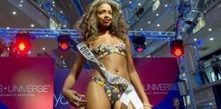 La caída de Miss Dominicana en Rusia