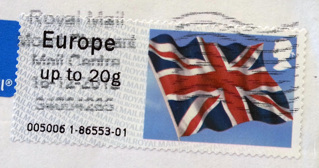 francobollo Union Jack Royal Mail