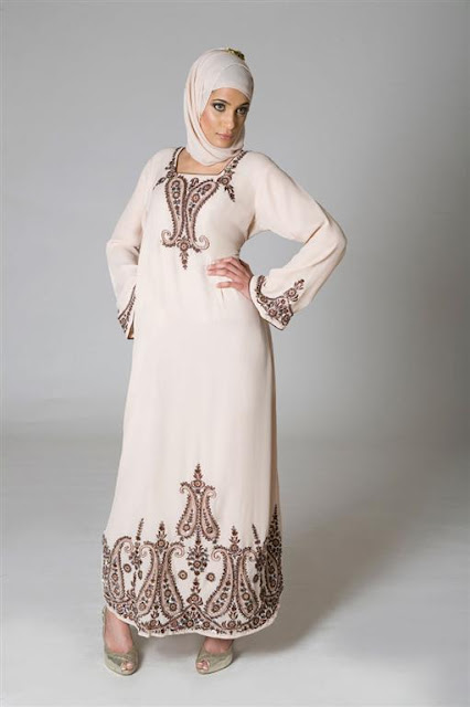 Islamic Embroidered Abayas For Women