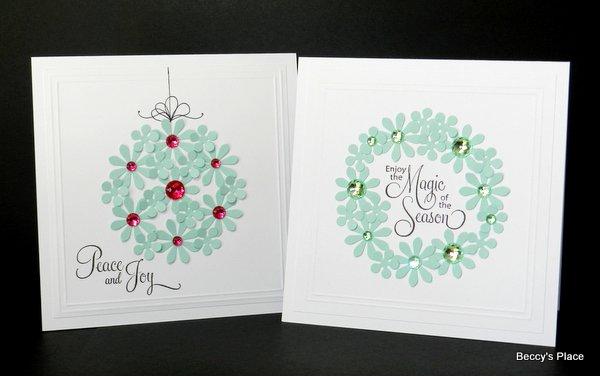 Beccy's Place: Day 15 - Non-Christmas Christmas Cards
