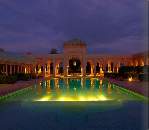 Hotel of the week amanjena marrakech maison de for Design hotel jena