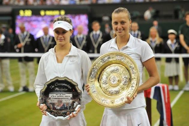 TENIS Wimbledon 2014 - Kvitova barre a Bouchard para ganar su 2º Wimbledon