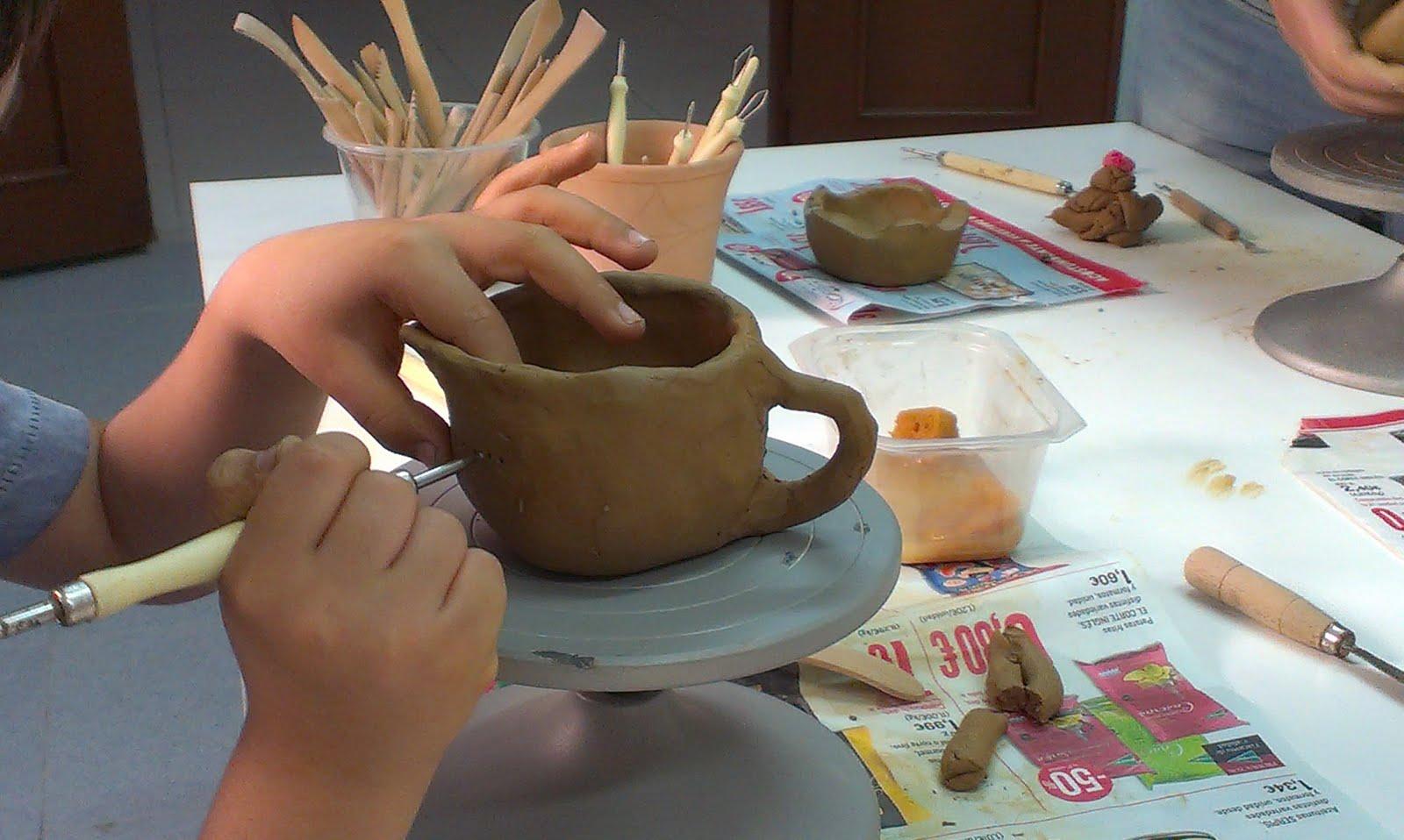 El taller de martinez y trini for Tecnicas para esmaltar ceramica