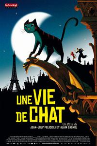 Poster original de Un gato en París