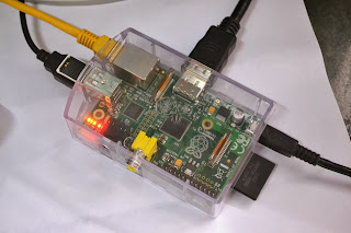 Raspberry Pi Model B RAM 512 MB