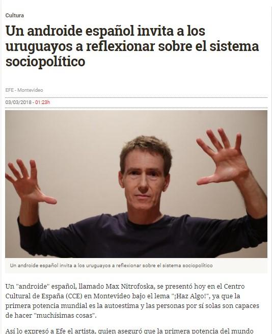 Nitrofoska en Montevideo y en eldiario.es