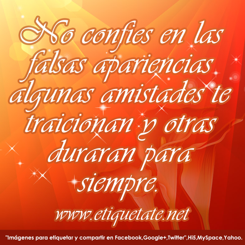 Frases para amigas falsas - FrasesParaAmigas.com