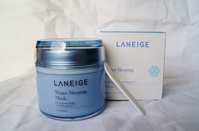 Laneige Water Sleeping Mask, beauty, skincare, review, facial, soft, skin, sleep, toronto, ontario, canada, the purple scarf, melanieps