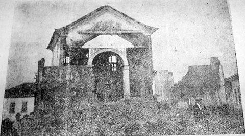 Antiga Igreja de São Francisco de Paula de Barbacena MG