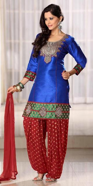eid styles with kurti