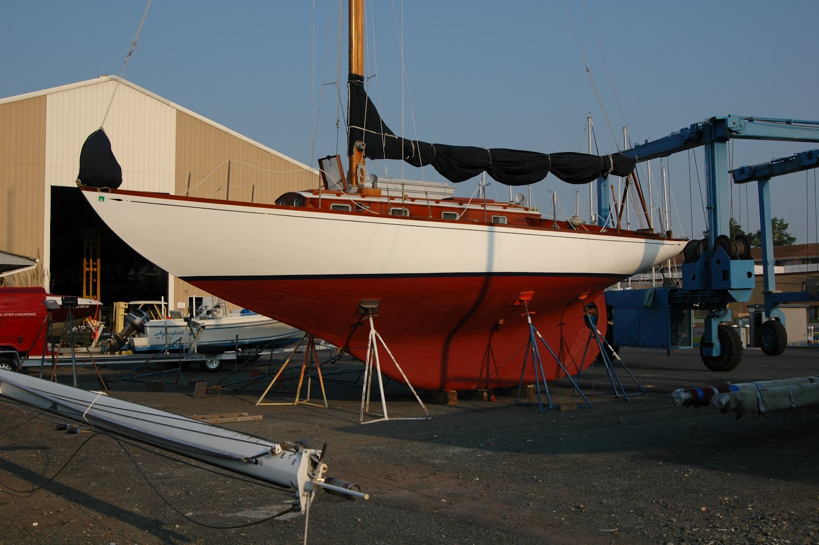 The boat was launched in 1947 and has had continual upgrades through the ...