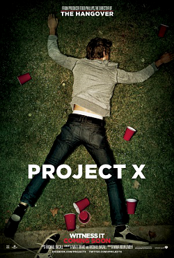 Filme Poster Projeto X  Uma Festa Fora de Controle DVDRip XviD &amp; RMVB Legendado