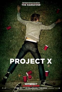 Filme Poster Projeto X – Uma Festa Fora de Controle DVDRip XviD & RMVB Legendado