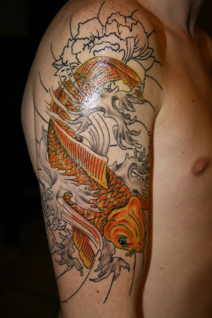 Koi-Fish-Sleeve-Japanese-Sleeve-Tattoo