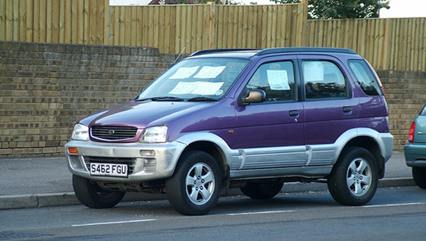 1998 Daihatsu Terios CX related infomation,specifications ...