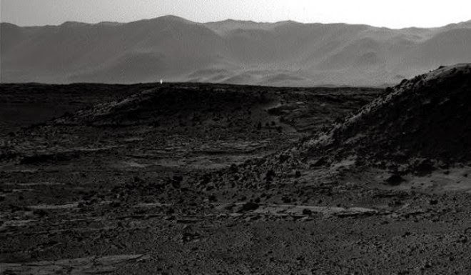 NASA Photo Captures Strange Bright Light Coming Out Of Mars