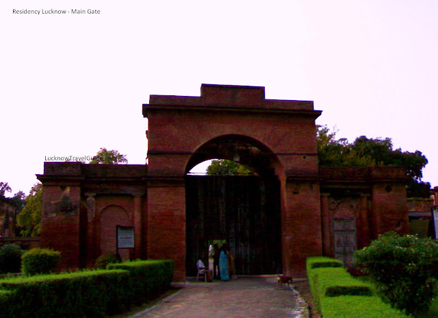 Gate of Lucknow Residency