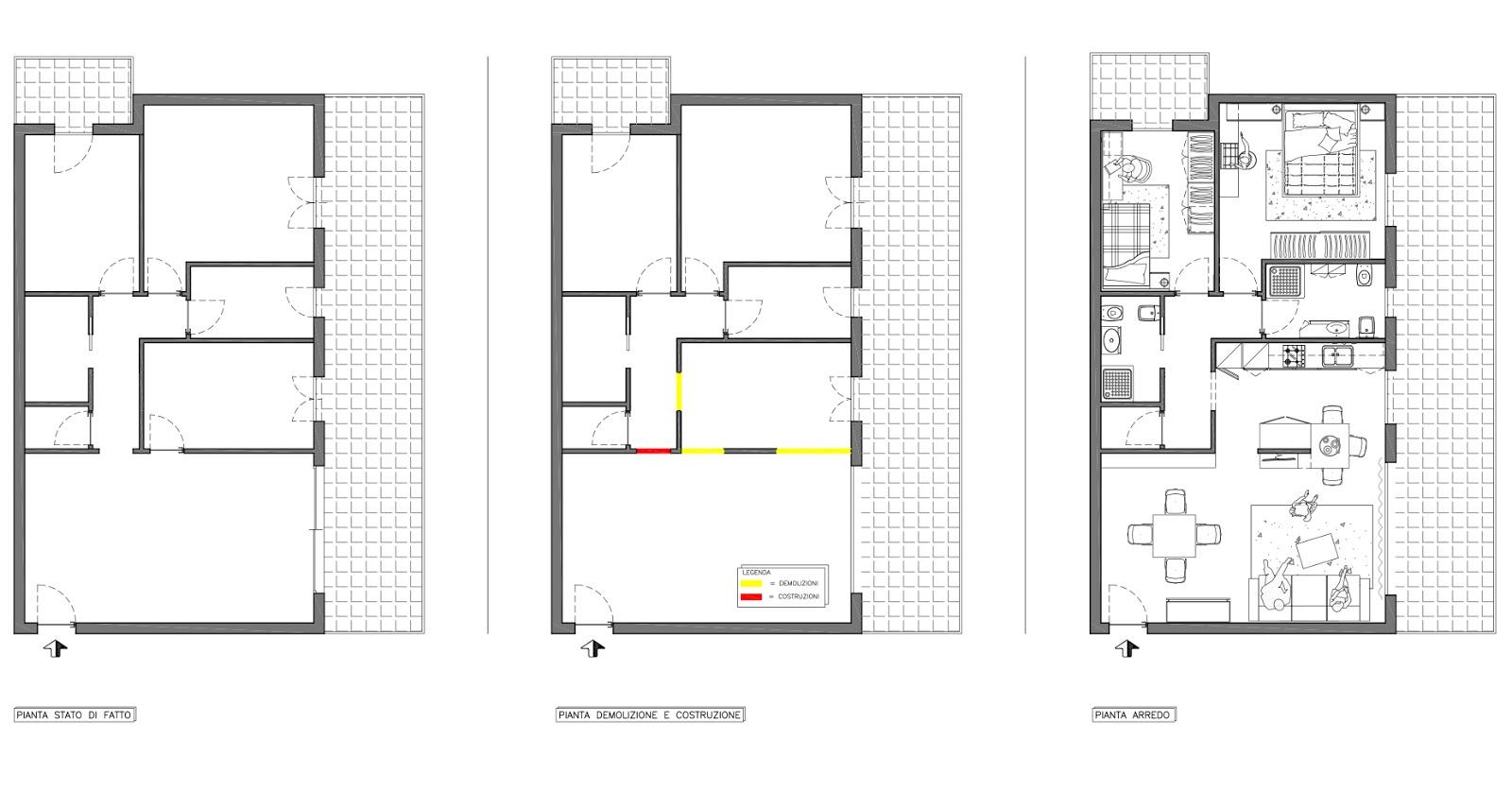 Tecnoffix progetto a confronto servizio progettazione - Progetto casa 100 mq ...