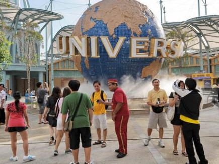 Singapore Picture Studio on Universal Studios Singapore