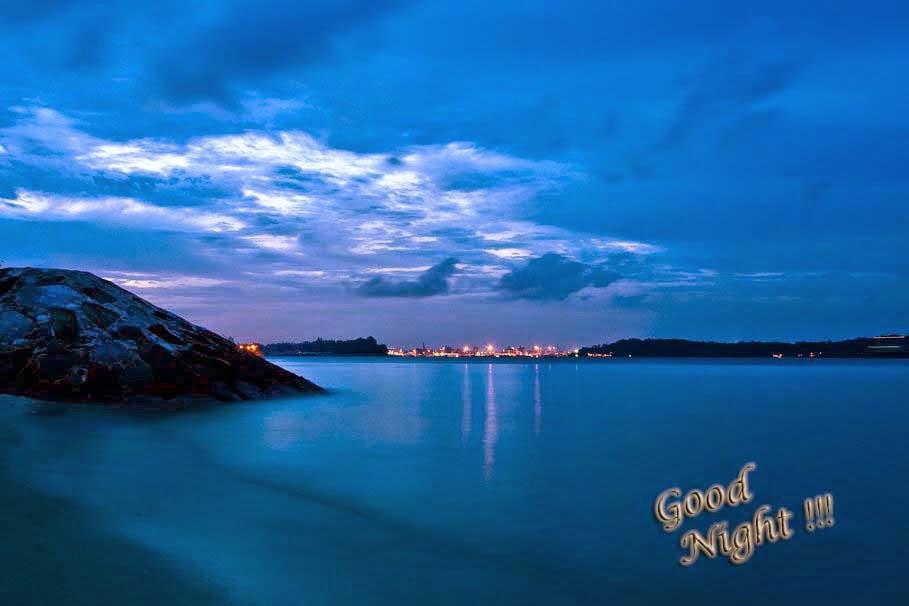 sea-ocean-mountain-good-night
