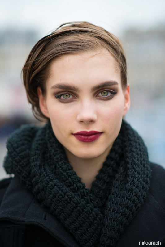 mitograph Elise Smidt After Louis Vuitton Paris Fashion Week 2013 2014 Fall Winter PFW Street Style Shimpei Mito