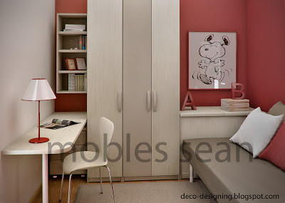 Modern Teen Bedroom Ideas by Sergi Mengot 5