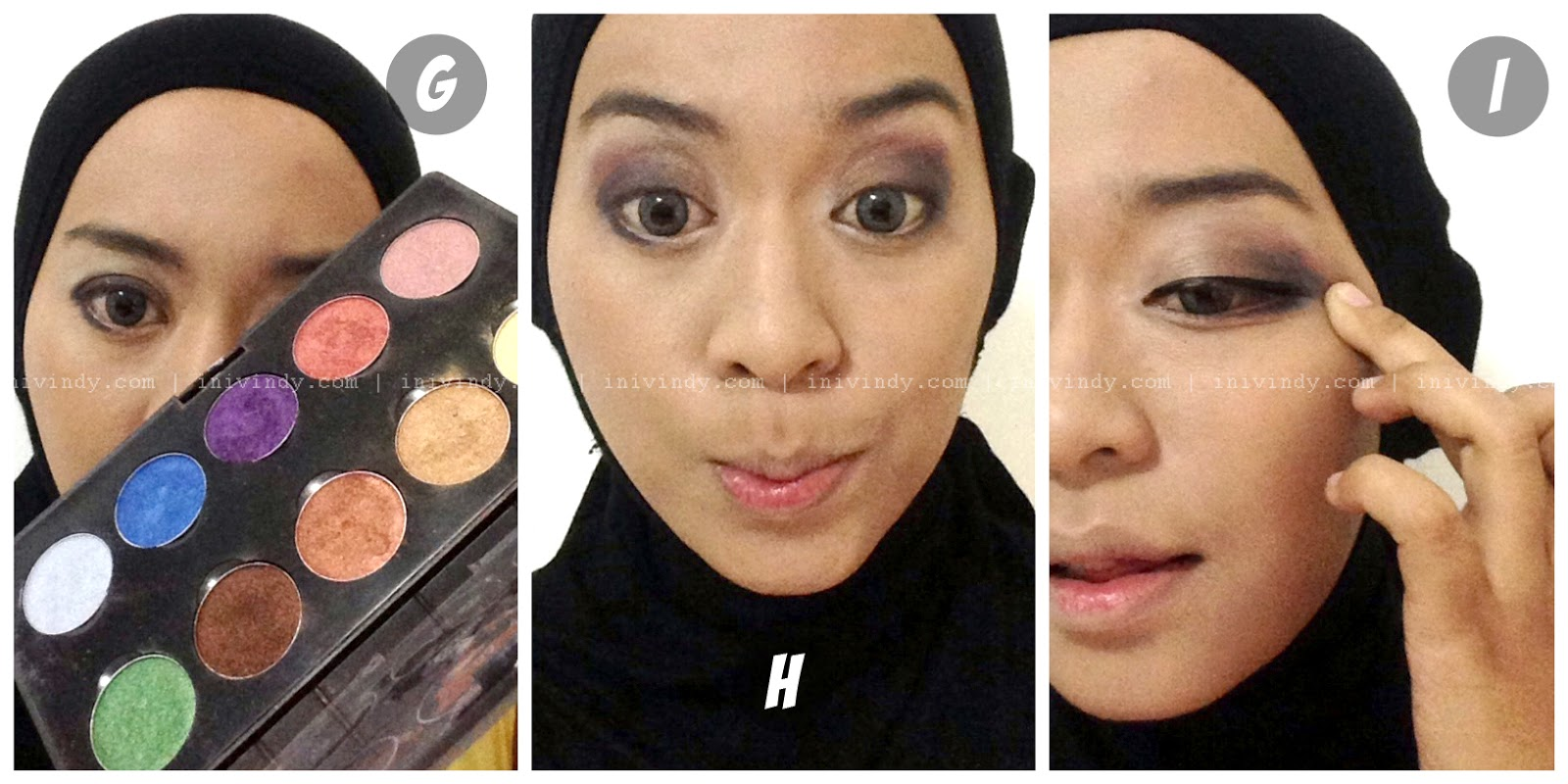 Model 2. Tips Tutorial Make Up Hijab Modern image
