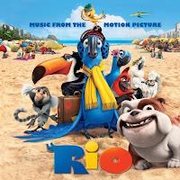 Soundtrack, RIO, 2011, movie, cover, cd, audio
