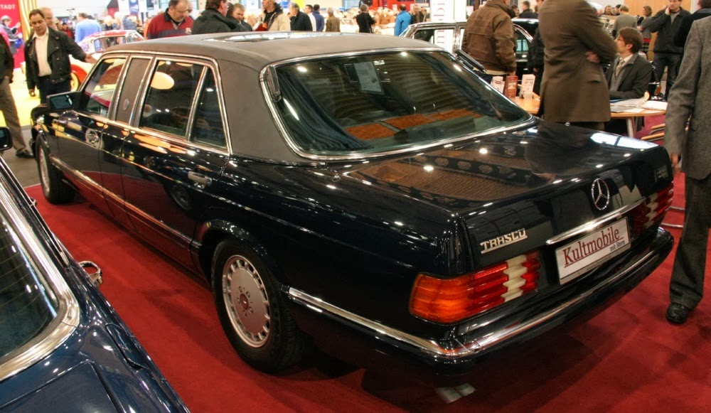 Trasco-forever: Mercedes-Benz 1000SEL 15 Trasco (V126)