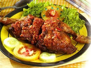 Penyet Chicken Recipe
