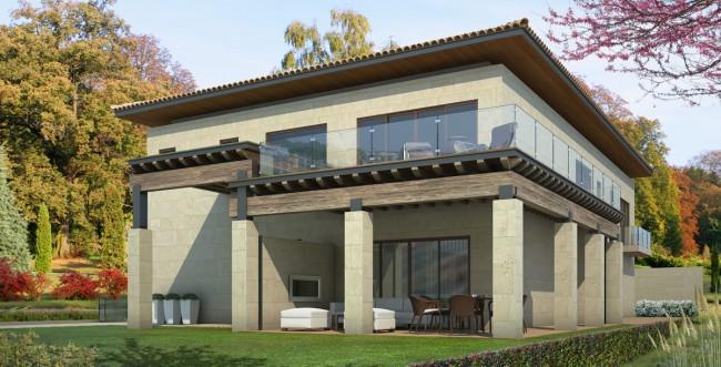 Fachada de casa moderna estilo mexicano fachadas tattoo - Casas estilo frances ...