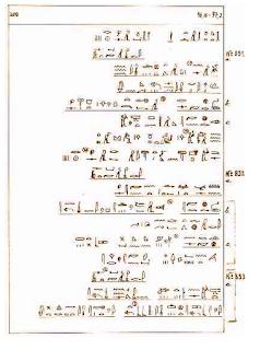 Extracto del Papiro Ebers