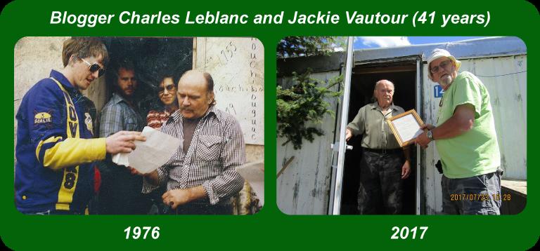 Charles Leblanc and Jackie Vautour